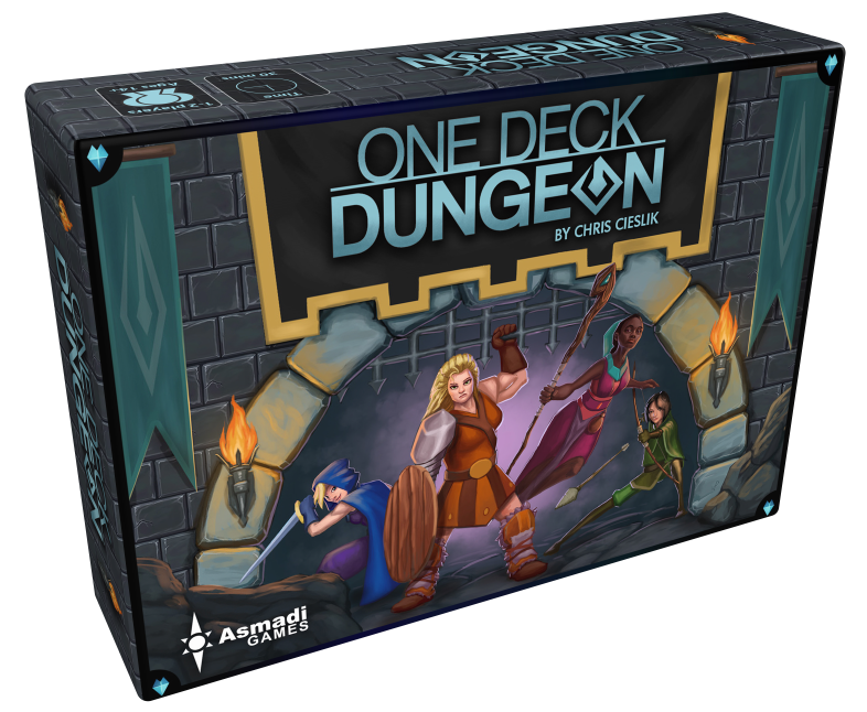 One Deck Dungeon (T.O.S.) -  Asmadi Games